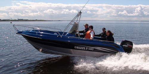Grizzly 580 Fisherman